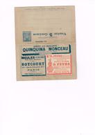 FRANCE : Carte-lettre 354ème édition Neuve. Vendue 5 Centimes Au Lieu De 15. - Advertising