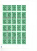 OCB 1926 Postfris Zonder Scharnier ** Volledig Vel ( Plaat 2 ) Lager Dan De Postprijs - Feuilles Complètes