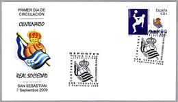 Centenario REAL SOCIEDAD DE FUTBOL - Football. SPD/FDC San Sebastian, Pais Vasco, 2009 - Equipos Famosos