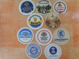 10 Sous-bocks Bières Allemandes  (box3-19) - Sous-bocks