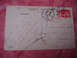 Timbre Publicite Carnet Benjamin  Publicitaire Sur Lettre - Marcophilie (Lettres)