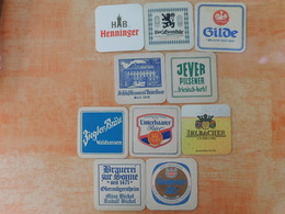 10 Sous-bocks Bières Allemandes  (box3-20) - Sous-bocks