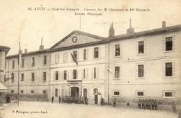 Auch - (Gers) - Quartier Espagne - Caserne Des 9e Chasseurs Et 10e Hussards - Entrée Principale - (687) - Auch