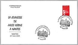 Escritor JULIO VERNE - JULES VERNE - Writer. Nantes 2005 - Escritores