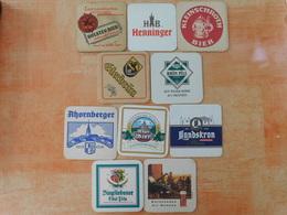 10 Sous-bocks Bières Allemandes  (box3-22) - Sous-bocks