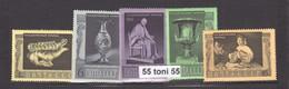 1966 Art-EREMITAGE LENINGRAD (Michel 3313/17) 5v.-MNH USSR - Sin Clasificación