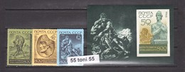 1966 Art Mi 3258/60+bl.44 3v.- MNH USSR - Sin Clasificación