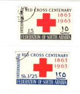 Aden (Federation Of South Arabia), 1963, SG 1 - 2, Used - Aden (1854-1963)
