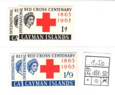 Cayman Islands, 1963, SG  181 - 182, MNH - Kaaiman Eilanden