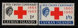 Cayman Islands, 1963, SG  181 - 182, Mint Hinged - Iles Caïmans