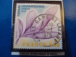 """1970-79-timbre Oblitéré N° 1931     """"  Floralies De Nantes     """"      1 Euro - France"""