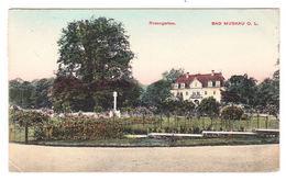 AK Bad Muskau, Rosengarten, Gel. 1912 - Bad Muskau