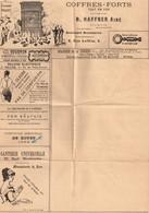 FRANCE : Ancienne Enveloppe Publicitaire. Rare. - Advertising