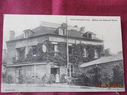 CPA - Pont-Errembourg - Hôtel Du Cheval Noir - France