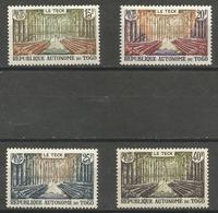 Togo - 1957 Teak Forest MNH **  Sc 343-6 - Togo (1914-1960)