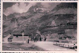 Splügenpass GR, An Der Grenze (738) - GR Grisons
