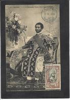 CPA Ethiopie Ethiopia Ethnic Afrique Noire Type Timbré Non Circulé Harrar Gouverneur - Ethiopia