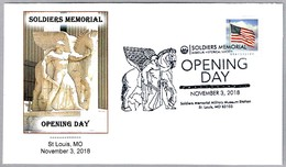 Soldiers Memorial - Opening Day - PEGASO - PEGASUS. St. Louis MO 2018 - Mitología