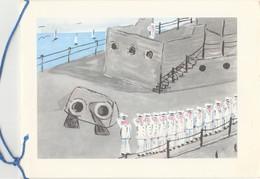 1969 - Carte Voeux - ITALIE - Pour Le Commandant AUFRAY - Marine, équipage - Nouvel An