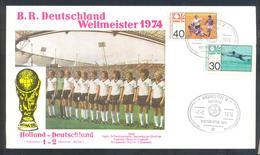 Germany 1974 Card: Football Fussball Soccer Calcio: FIFA World Cup; Germany Team Weltmmeister; Final Match Holland - Fußball-Weltmeisterschaft
