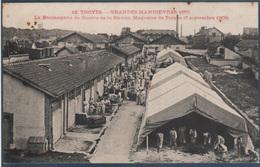 Troyes , Grandes Manoeuvres 1905 , La Boulangerie De Guerre De La Station Magasins De Troyes , Animée - Troyes
