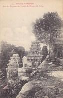 Asie - Ruines D'Angkor - Une Des Terrasses Du Temple Du Phnom Bak Keng - Thaïlande