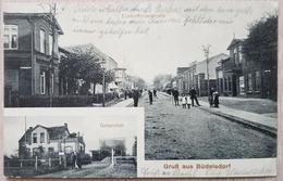 Germany 1916 Gruß Aus Büdelsdorf Eckernfördestraße - Deutschland