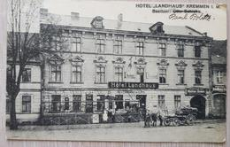 Germany Hotel Landhaus Kremmen 1920 - Unclassified
