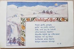 Iceland Nyår 1915 - Islande