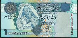 LIBYA P68a 1 DINAR 2004 #6/5   UNC. - Libya