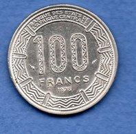 Gabon -  100 Francs 1975 -  Km # 13 -  état SUP - Gabon