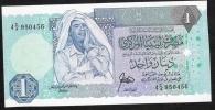 LIBYA  P54   1  DINAR   1988   UNC. - Libye