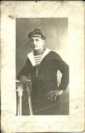 ( CARTE PHOTO ) ( MILITAIRES )( METIERS )( MARINS )( BATEAUX ) 1918 - War, Military