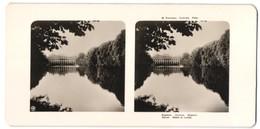 Stereo-Fotografie Unbekannter Fotograf, Ansicht Warschau, Blick Zum Lazienki-Palast - Stereo-Photographie