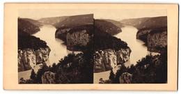 Stereo-Fotografie Unbekannter Fotograf, Ansicht Donau Bei Kehlheim - Photos Stéréoscopiques