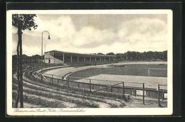 AK Köln-Müngersdorf, Stadion Der Stadt, Radrennbahn - Ansichtskarten