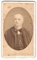 Photo T. Henry & Maurel, Toulon, Portrait De älterer Herr In Kariertem Anzug - Personnes Anonymes