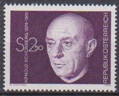 Österreich 1974 Nr.1463 ** Postfr. 100.Geb. Arnold Schönberg ( 9182) Günstige Versandkosten - 1945-.... 2. Republik