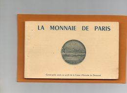75 - PARIS VI - LA MONNAIE DE PARIS - CARNET GUIDE DE 12 CARTES - VUES DU MONUMENT ET DES ATELIERS - Arrondissement: 06