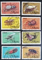 Ghana  1991 Insects USED - Ghana (1957-...)