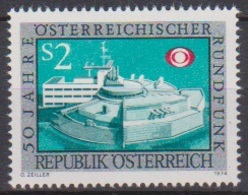 Österreich 1974 Nr.1464  ** Postfr.50J.Österreischicher Rundfunk ( 9186) Günstige Versandkosten - 1945-.... 2. Republik