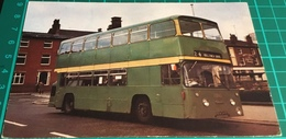 Bury Corporation 140 1968 Built Daimler Fleetline CRG 6LX.  Bury Town Centre 1972 - Buses & Coaches