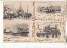 CPA Paris - 8 Cartes  - Exposition Universelle De 1900 - Cartes Avant 19047543b  :  Achat Immédiat - Mostre