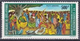 Elfenbeinküste Ivory Coast Cote D'Ivoire 1973 Kunst Arts Kultur Culture Gemälde Paintings Frieden Peace, Mi. 435 ** - Côte D'Ivoire (1960-...)