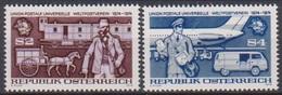Österreich 1974 Nr.1466 - 1467  ** Postfr. 100 Jahre Weltpostverein UPU ( 9187) Günstige Versandkosten - 1945-.... 2. Republik