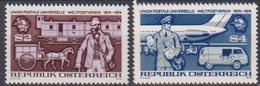 Österreich 1974 Nr.1466 - 1467  ** Postfr. 100 Jahre Weltpostverein UPU ( 9188) Günstige Versandkosten - 1945-.... 2. Republik