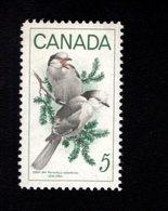 753907295 1968   SCOTT 478 POSTFRIS MINT NEVER HINGED EINWANDFREI XX  BIRDS GRAY JAYS - 1952-.... Règne D'Elizabeth II