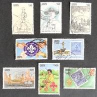 Ghana  1991 Lord Robert Baden-Powell ,Founder Of Boy Scouts USED - Ghana (1957-...)