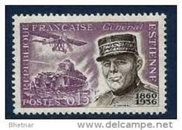"""FR YT 1270 """" Général Estienne """" 1960 Neuf** - France"""
