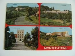 MONTECATONE  BOLOGNA    QSL  CORRISPONDENZA   Amateur   Radio Amateurs   QSL RADIO CARD  QXL  CARD - Bologna